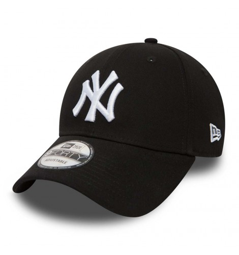 NEW ERA 940 LEAG BASIC NEYYAN BLACK WHITE 5c9af580118