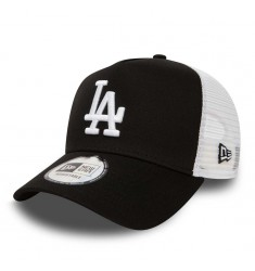 NEW ERA CLEAN TRUCKER LOSDOD BLKWHI- OSFA