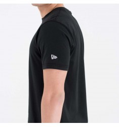 NEW ERA NBA WORDMARK TEE GOLWAR BLK