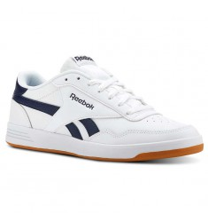 REEBOK CLASSIC ROYAL TECHQUE T - WHT-NAVY-GUM