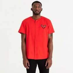 NEW ERA NBA LOGO BUTTON UP CHIBUL FDR