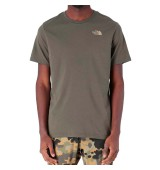 THE NORTH FACE M S/S RED BOX TEE NWTPGRN/KELP