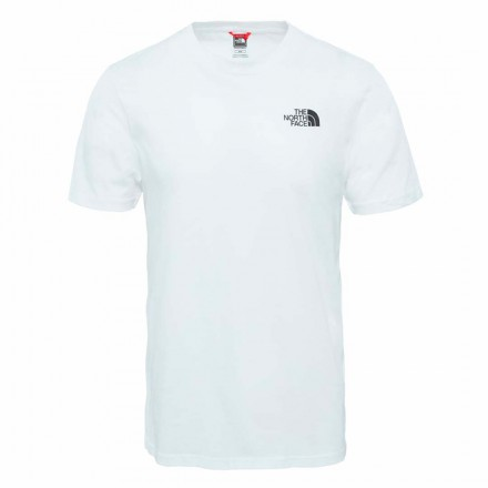 THE NORTH FACE M SS SIMPLE DONE TEE TNF WHITE
