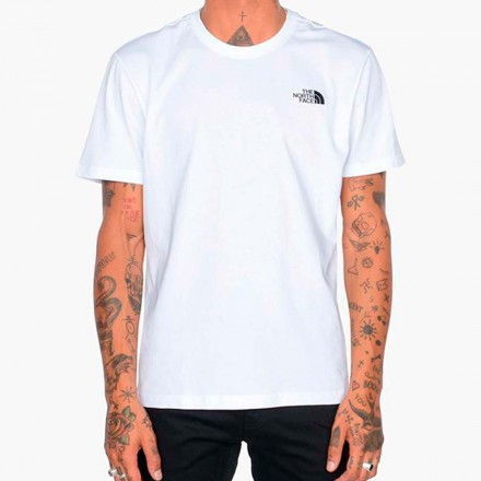 THE NORTH FACE M S/S RED BOX TEE TNF WHITE