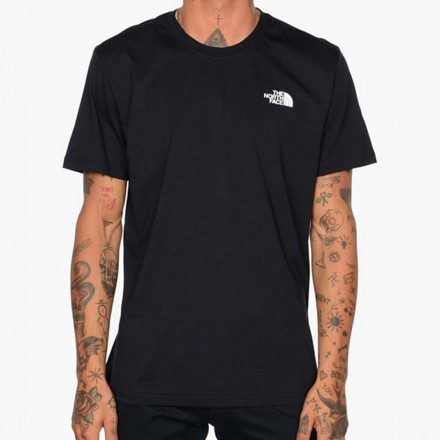 THE NORTH FACE M S/S RED BOX TEE TNF BLACK