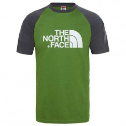 THE NORTH FACE M SS RAGLAN EASY TEE GARDEN GR