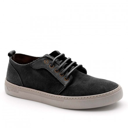NATURAL WORLD BASKET ON SUEDE TINTADO NEGRO