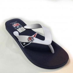 NEW ERA CHANCLAS WHITE NAVY