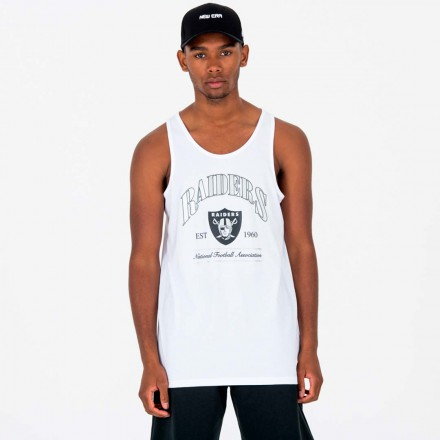 NEW ERA NFL TEAM ESTABLISHED TANK OAKRAI WHI