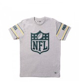 NEW ERA NFL BADGE TEE GREPAC LGH