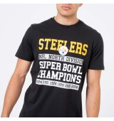 NEW ERA NFL LARGE GRAPHIC TEE PISTE BLK