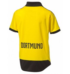 PUMA BVB HOME REPLICA SHIRT WITH SPONSOR C,