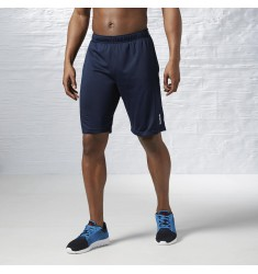 REEBOK SHORT WOR POLY SHORT FAUX INDIGO