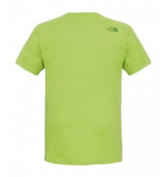 THE NORTH FACE M SS COUNTRY PEAK TE MACAW GRE