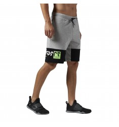 REEBOK SHORT WOR C SHORTS MEDIUN GREY HEATHER