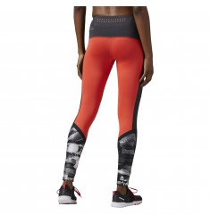 REEBOK MALLA OS ELLITE MESH TIGHT LASER RED