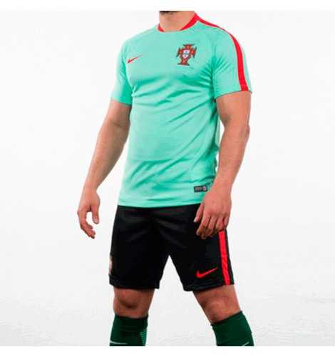 ... NIKE FPF FLASH SS TOP Camiseta de Fútbol Portugal Flash Training 2016  ... 5399d4bf0123a