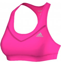 ADIDAS TF BRA - SOLID    SHOPIN/MSILVE