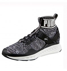 PUMA IGNITE EVOKNIT PUMA BLACK-QUIET SHADE-PU