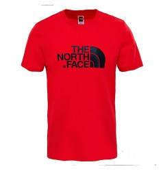 THE NORTH FACE M S/S EASY TEE-TNF RED