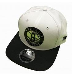 NEW ERA NBA METALLIC 9FIFTY BRONET WHI