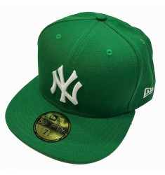 NEW ERA MLB BASIC NEYYAN GRN/WHT