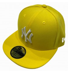 NEW ERA MLB BASIC NEYYAN CYBER YEL/WHT