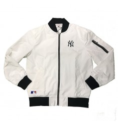 NEW ERA CONCRETE BOMBER JACKET NEYYAN WHI