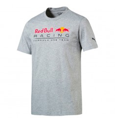 PUMA RBR LOGO TEE LIGHT GRAY HEATHER