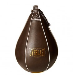 EVERLAST VINTAGE STYLE SPEED BAG BROWN
