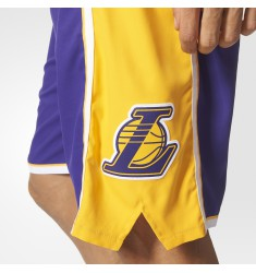 ADIDAS INTNL SWINGMAN SHOR NBA LOS ANGELES LAKE