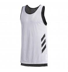 ADIDAS ACCELERATE TANK    WHITE/BLACK