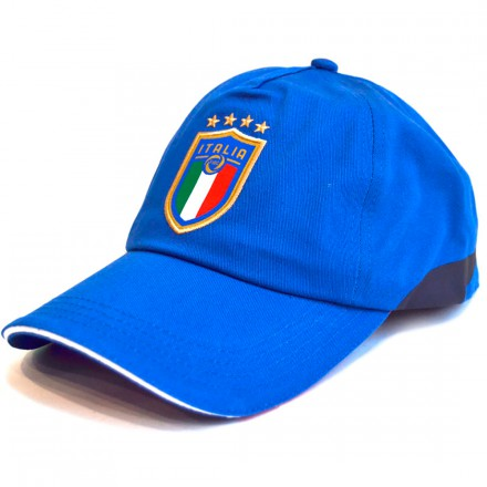 PUMA ITALIA TRAINING CAP TEAM POWER BLUE-PEAC