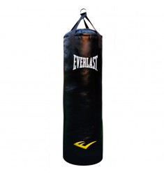 EVERLAST POWERSTRIKE PUNCH BAG 123CM - BLACK