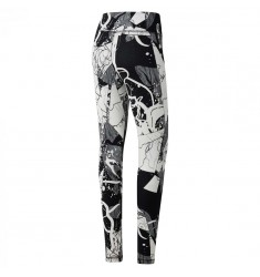 REEBOK MALLA EL LEGGING-ABSTRACT BLOSS BLACK