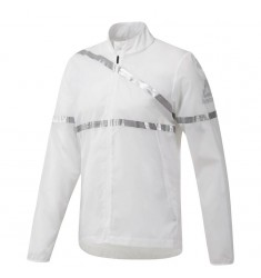 REEBOK  JACKET RUM HERO JKT WHITE