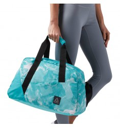 REEBOK DUFFLE W FOUND GRIP GRAPHIC SOIL TEAL