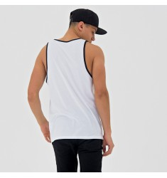 NEW ERA NBA TEAM APP POP LOGO TANK BRONET WHI