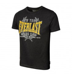 EVERLAST EVR8187 JUNIOR T-SHIRT - BLACK