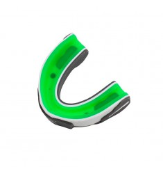 EVERLAST EVERGEL MOUTHGUARD CE WITH CASE - GREEN/WHITE