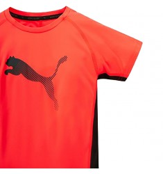 PUMA ACTIVE RAPID CAT GRAPHIC TEE RED BL